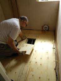 Diy Bathroom Floors Diy How To Install A New Plywood Floor Youtube