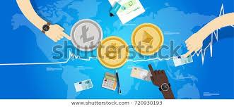 Bitcoin Litecoin Ethereum Charts Cryptocurrency Bitcoin Ethereum Litecoin Price Value Stock