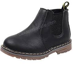 Dadawen Babys Boys Girls Waterproof Side Zipper Short Ankle