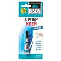 <b>Клей универсальный Bison Super</b> Glue Liquid 6305582 3 г ...