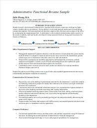 Sample Resume Medical Assistant Administrative Medical Assistant