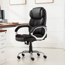 Ergonomic Computer Desk Belleze Executive Office Chair Ergonomic Padded Armrest