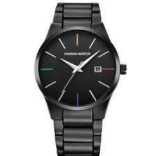mens metal watch straps modern mens designer quartz wrist watch alloy case and metal strap w00005