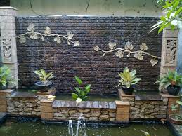 lets make waterfall in the small garden with