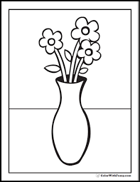 Small Picture Flower Coloring Pages Pdf Coloring Coloring Pages