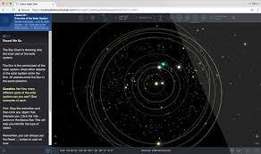 Interactive Night Sky Chart Astronomy Education