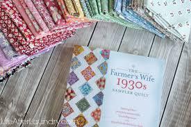 The Farmer's Wife 1930's Sampler Quilt Sew-along - Life After Laundry & The Farmer's Wife 1930's Sampler Quilt Sew- Along Adamdwight.com