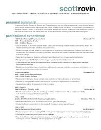 Graphic Design Experience Resume Graphic Designer Resume