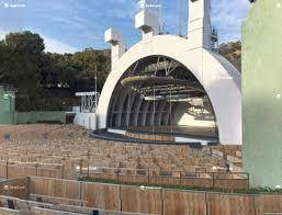 Hollywood Bowl D Seat Views Seatgeek