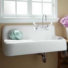 White Enamel Kitchen Sinks Disadvantages Of Cast Iron Kitchen Sink