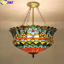 colored glass pendant lights multi