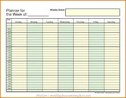 Meal Planning Spreadsheet Excel 6 Practical Weekly Meal Planner Template Excel Solutions