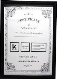 white certificate frame kaarti mdf photo frame