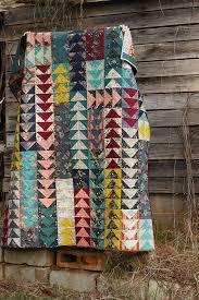 Flying Geese Quilt by Rachel of Stitched in Color | Fiber ... & Flying Geese Quilt by Rachel of Stitched in Color Adamdwight.com