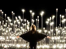artistic lighting. \u0027LEDscape\u0027 Is An Installation Which Deals With Light As A Constructive Element Of Space And Landscape. It Located In The \u201cCentro Cultural De Belém\u201d Artistic Lighting U