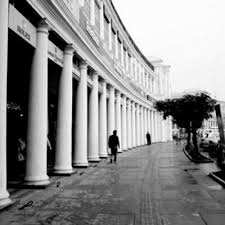 Image result for connaught place architecture