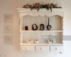 brilliant units wall mounted shelving unit in private house cheshire uk stock photo on mounted shelving units o