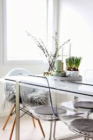 white modern chair ikea. Ghost Chair Ikea For Your Interior Design Idea: White Dining Table And Acrylic Modern N