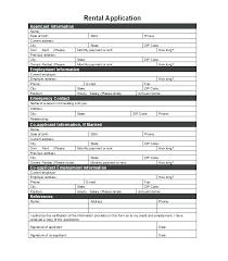 Rental References Form Rental Application References Sample Reference Letter For Rental