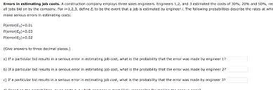 Estimating Job Solved Rrors In Estimating Job Costs A Construction Comp