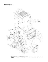Mtd model 13am762f765 lawn tractor genuine parts