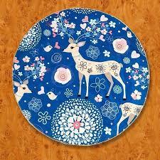 non slip rug deer blue children cartoon round t non slip rug pad t kids room