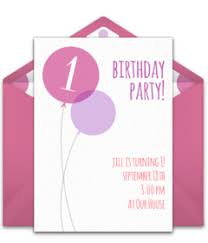 online free birthday invitations free 1st birthday online invitations punchbowl