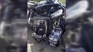 Mom's image of horrific car accident shows the importance of car seats
