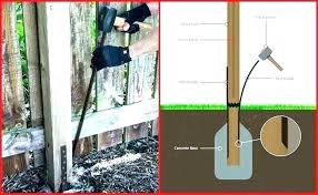 no concrete fence post fence post foam fence post foam reviews wood how to install wooden