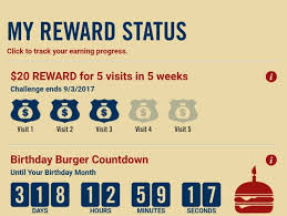 eat at red robin five times in five weeks and get a 20 credit