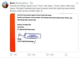 11 maret 2018 06:57 diperbarui: 5 Fakta Eiger Komplain Ke Youtuber Gegara Review Produk Suara Jabar