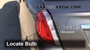lincoln mks interior fuse check lincoln mks l v brake light change 2009 2016 lincoln mks