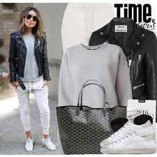 how can women in 40 wear leather jackets
