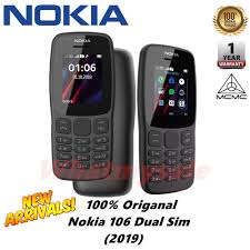 Nokia 106 Dual Sim (2019) New Model ...