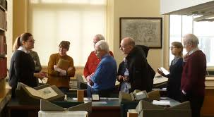 """TCD Research Collections on Twitter: """"Dr Angela Griffith gave another great  @TCDArtHist PG class this morning in the reading room. @tcddublin academics  - contact us if you would like to use this"""