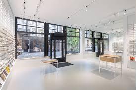 Interior design of Ace & Tate Antwerpen