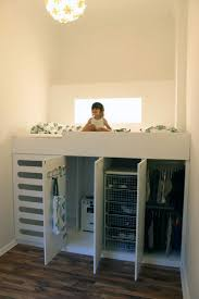 Bed in closet Queen If Youre In Need Of More Storage And Space In Your Childs Room Check This Out Its Loft Bed And Closet All In One Apartment Therapy Loft Bed With Closet Underneath Apartment Therapy