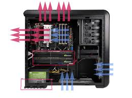fan installing and good air flowing inside case