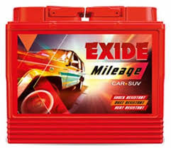 Exide 201912 35 Ah Battery For Car