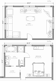 family room addition plan best of over the garage addition floor plans beautiful master suite over