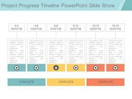 Project Powerpoint Project Progress Timeline Powerpoint Slide Show Powerpoint