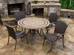 tortuga outdoor marquesas 5 piece wicker dining set