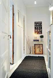 hallway wall decor small hallway wall