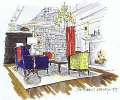 Michelle Morelans hybrid drawings for interior design SketchUp Blog