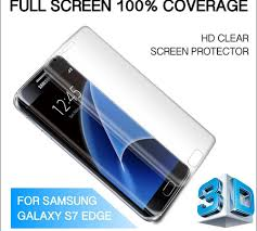 galaxy s7 edge screen protector at rs 3