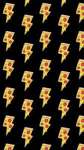 pizza lightning bolts iphone 6