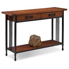 mission oak furniture. Ironcraft Sofa Table - Mission Oak Leick Furniture O
