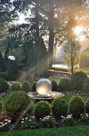 glowing garden gazing homemydesign
