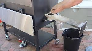 blaz n grill works grand slam preparing our blazn grill works grid iron pellet cooker for its