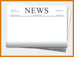blank newspaper template printable blank newspaper template for students 5 6 free word